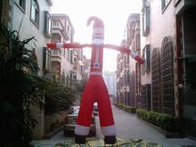 2 Legs advertising inflatable air dancer sky tube Christmas sky dancer