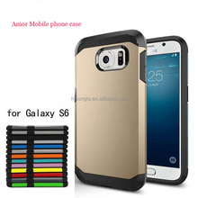 New tough Amor cell phone case for samsung galaxy S6 factory supplier cheap price