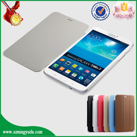 China Factory Smart PU leather flip case for samsung galaxy tab 3