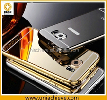 Luxury Ultra Thin All Metal Aluminum Case Back Cover for Samsung Galaxy S6/S6 Edge