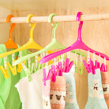 J388 Plastic Multifunctional Clothes Hanger