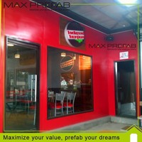 China supplier Prefabricated mobile bar store