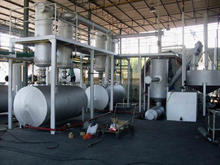 no pollution waste plastic to oil pyrolysis machine/ scrap tire recycle pyrolysis plant
