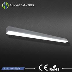 2015 hot sale modern office led pendant lighting 42w 1200mm led linear light