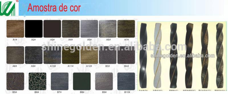 Amado portão de ferro para residencial GG-8022-Portões-ID do produto  HE05