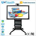 industrial interactive touchscreen ir monitor tela de toque barato aio pc 65 polegadas