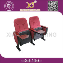 fixed seating stadium chair /auditorium seating with cheap price
