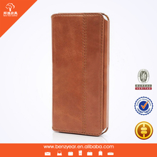 Fashion designer Genuine Leather fitted phone case for i Phone 6