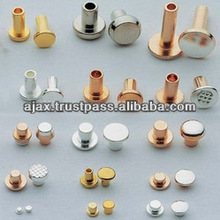 Push Button Switches Relay Electrical Bimetal Contact Rivets