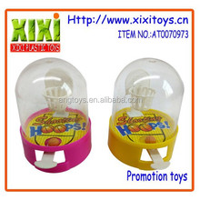 5.5Cm cheap promotion gift plastic toy mini basketball game