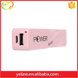 PC colorful mini power bank,electric savings,power storing for mobile phone
