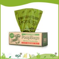 Wholesale custom printed corn starch based 100% oxo biodegradable plastic bags