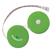 Cheap Promotional Plastic Cloth Tape Measure, Round Retractable Tape measuring