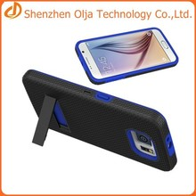 silicon+pc case for samsung galaxy s6,for samsung galaxy s6 silicon pc case