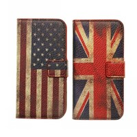 Hot selling USA and UK flag mobile phone Case For Apple iPhone 6s