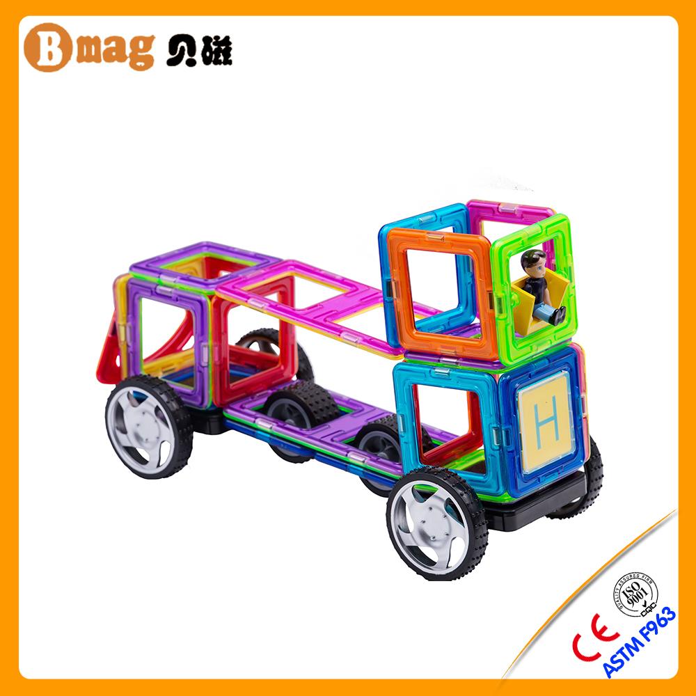 BMAG SGS obtenu diy éducatifs 108 pcs magformers mag sagesse jouet