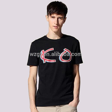 Fabricante chino de suministro 160GSM algodón cuello redondo T - camisa