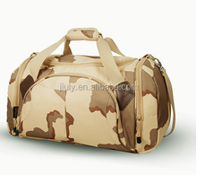 New fashion waterproof sports mens camouflage military travel bag