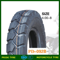 2015 New product 4.00-8 motorcycle tire & tube