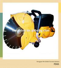 64.7cc gasoline cut off saw, FD65 gasoline wood saw cutting machine