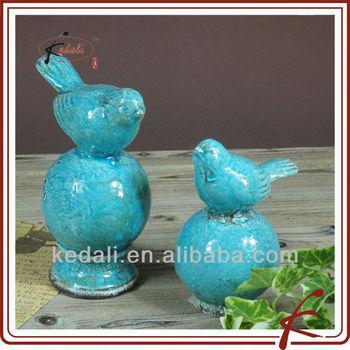 New Item Shabby Chic Home Decor Blue Bird