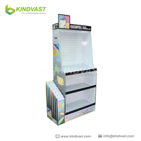 Paper Material point of sale cardboard display for umbrella