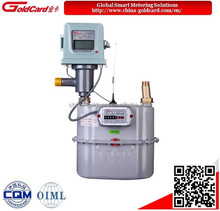 IC card prepaid industrial diaphragm gas meter