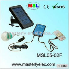 Cheap useful solar home lamp with charger