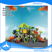 kids slide center outdoor play series with climbing frame