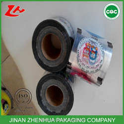 hot sale Bubble Tea Packing film PP/PE/PET Cup sealing film