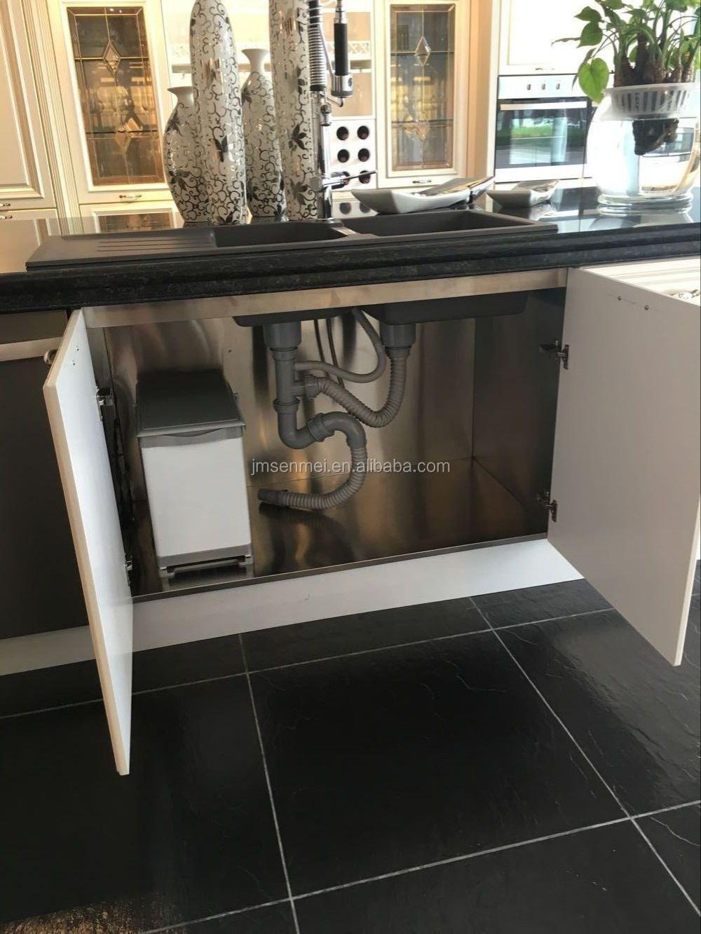 SKB0119 Appartement Keukenkasten Ontwerp Oven en Magnetron Kast in ...