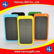5V Solar Panel Backup Charger Battery 4000mAh Latop Solar Power Bank