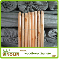SINOLIN Household cleaning tool: 120x2.2CM varnished wooden broom handle
