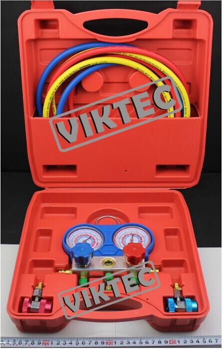 Car Repair Tool R-134a High Quality Common Cool Gas Meter Auto Tool(VT01048)