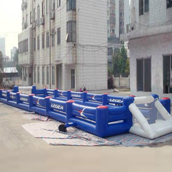 inflatable football game, inflatable human table football,inflatable table soccer