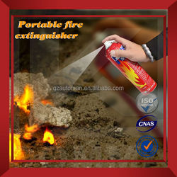 ISO9001 car care product 1000ml Foam fire extinguisher equipment