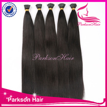 Top quality wholesale 100% Virign Chinese Hair Extension Nail/U Tip Silky Straight No Shedding And Tangle