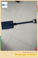 Garden tools steel flat head digging types of spade shovel S512
