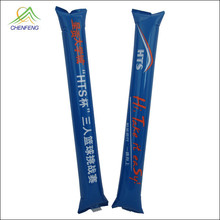 Word cup sport cheering inflatable sticks for promotion