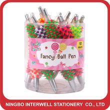 2012 new style! Spiky Pen,Porcupine pen with light,light pen