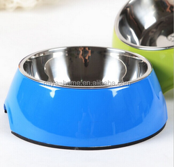 Best selling stainless steel pet bowl/plastic dog pet bowls