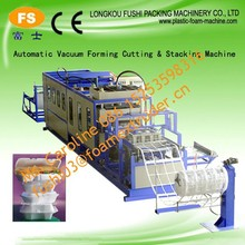 Salable CE approval PS disposable foam food container and platemaking machine , double-screw polystyrene foam sheet equipment