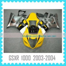 ABS motorcycle body Fairing for SUZUKI GSXR1000 K3 2003 2004