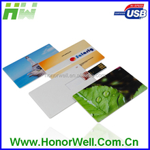 4G 8G 16G 32G Wallet handy card Usb Flash For promotion