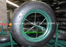 14 Inch Solid 3.50-8 Rubber Wheel