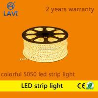christmas lights Slim type most popular SMD 3528 led strip for cabinet, 220v aluminium yellow led strip light