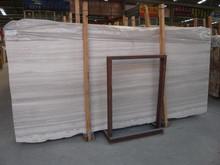 White Wood Line Marble Countertops, White Wood Grain Marble Vanity Tops, Island Tops