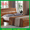 Promotion new furniture product China supplier carved wooden bed models (XFW-618)