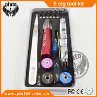Authentic E cigarette tool kit Oem vaporizer tool kit unique design bulk wholesale e cig took DIY Tool