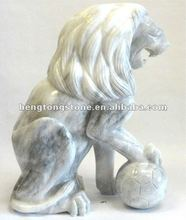 White Marble Lions Factory Supplying